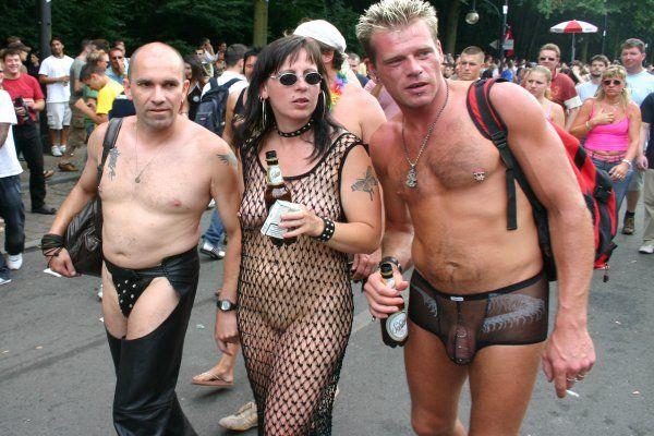 Ficken an der Loveparade in Berlin